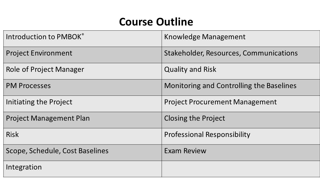 Course Outline2