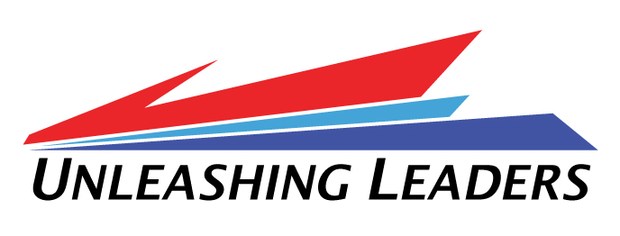 Silver Unleashing Leaders Logo Rectangle