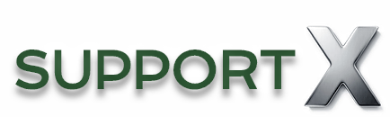 SupportX Logo